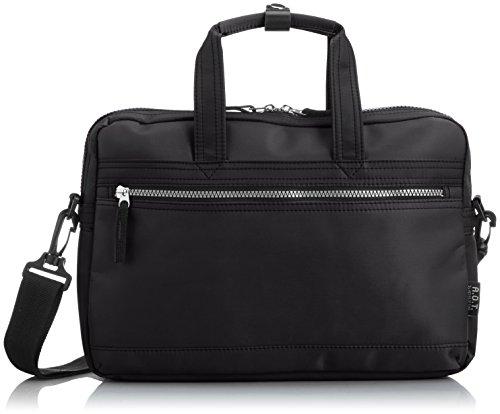 [エーオーティー] A.O.T 2WAYビジネスバッグ【B5対応 軽量】 3843 クシ (クロ×シルバー)