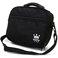 Yoyo King Black Yoyo Bag Heavy Duty Soft Case for Storage of 8 Yoyos and Accessories by Yoyo King [並行輸入品]