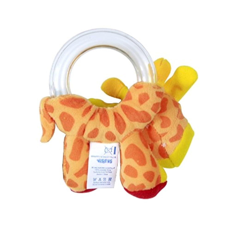 1pcベビーRattleおもちゃCute Doll Holding動物