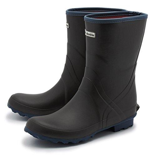 Columbia(コロンビア) レイン ブーツ ラディミッドII ミドルカット 長靴 雨靴 レディース 010-Black 6(24.0) yu3721-60-010