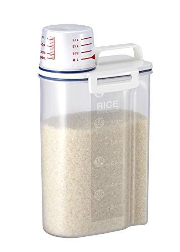 アスベル「密閉米びつ2kg」