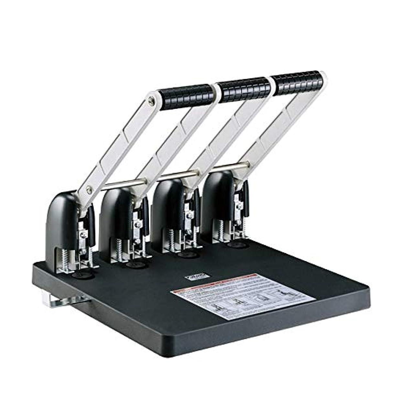 同化する各区画穴あけパンチ 4穴パンチングマシン手動パンチングマシン(150ページ穴あけ) 事務器 穴あけパンチ