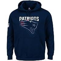 マジェスティック (Majestic) RAIYNA パーカー - ニューイングランド?ペイトリオッツ (New England Patriots) ネイビー