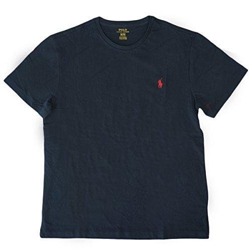 (ポロ ラルフローレン)POLO Ralph Lauren 半袖 Tシャツ ワンポイント メンズ クルーネック ブラック...