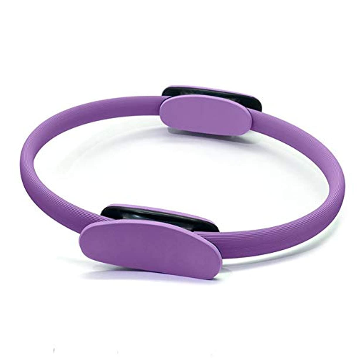 ジャングルガジュマルコールドポータブルサイズ38センチヨガレジスタンスリング軽量痩身マジックサークル太もも抵抗レジスタンスヨガリングトレーニングツール(Color:purple)