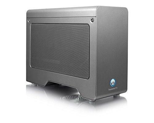 AKiTiO Node Pro Thunderbolt 3対応 PCI Express 外付け拡張ボックス(Windows/Mac両対応 / アミュレットオリジナルマニュアル付き)