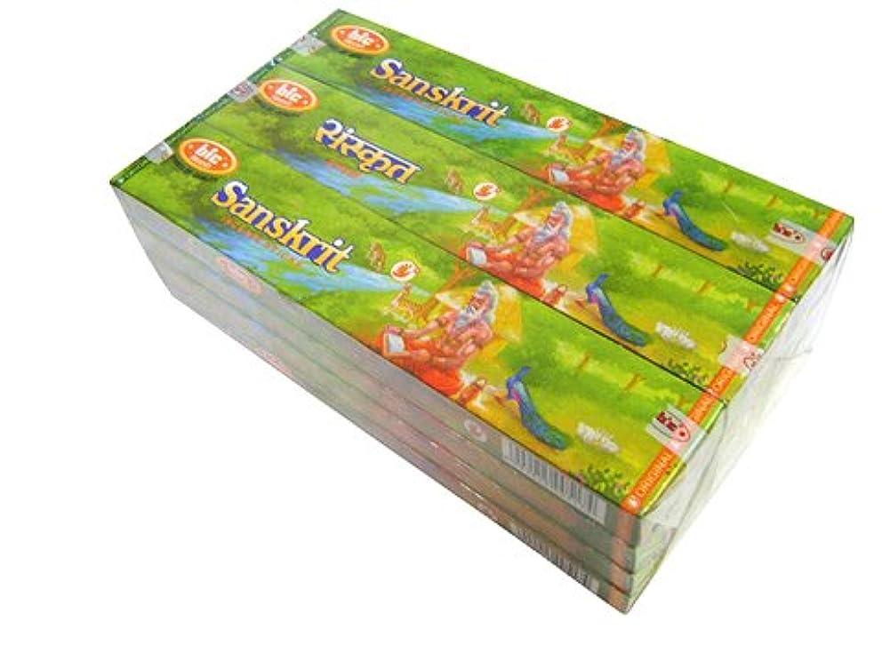 利得そのしばしばBIC(ビック) サンスクリット香(レギュラーボックス) スティック SANSKRIT REG BOX 12箱セット