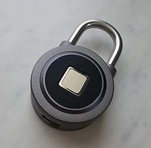 FB50 スマートロック スマートフォン 指紋認証 自転車 BIKE リチャージャブル 南京錠 PAD LOCK スマホ連動 GPS マクアケ makuake クラウドファンディング