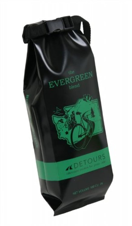 めまいがイル権利を与えるDETOURS (ディトゥアース) The Coffee Bag 〔Washington〕 マルチユース防水フレームバッグ 【Seattle,USA】 DT-35031 グリーン