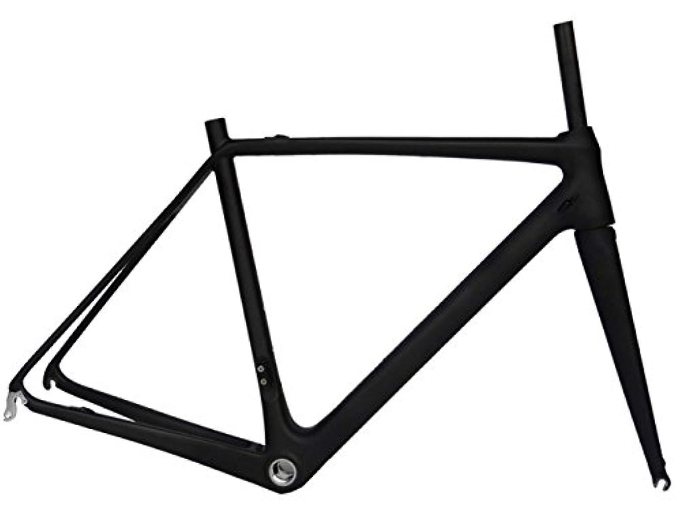 ふさわしいむしゃむしゃ確かめるフルカーボン UDマット700c ロードバイク サイクリング BB30 フレームフォーク 50cm