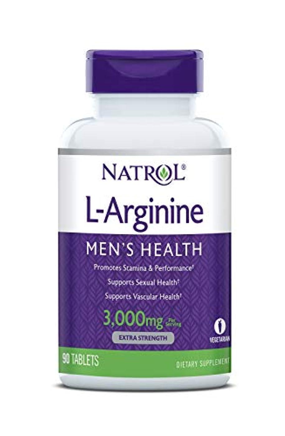 雑草つぼみそれぞれNatrol - L-アルギニン 3000 mg 90錠