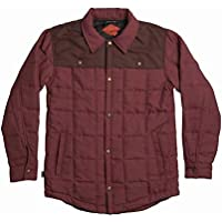 Airblaster Quilted Shirt Jacket Oxblood L 並行輸入品