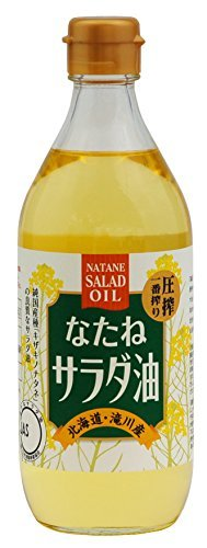 ムソー 国産なたねサラダ油 450g ×6セット