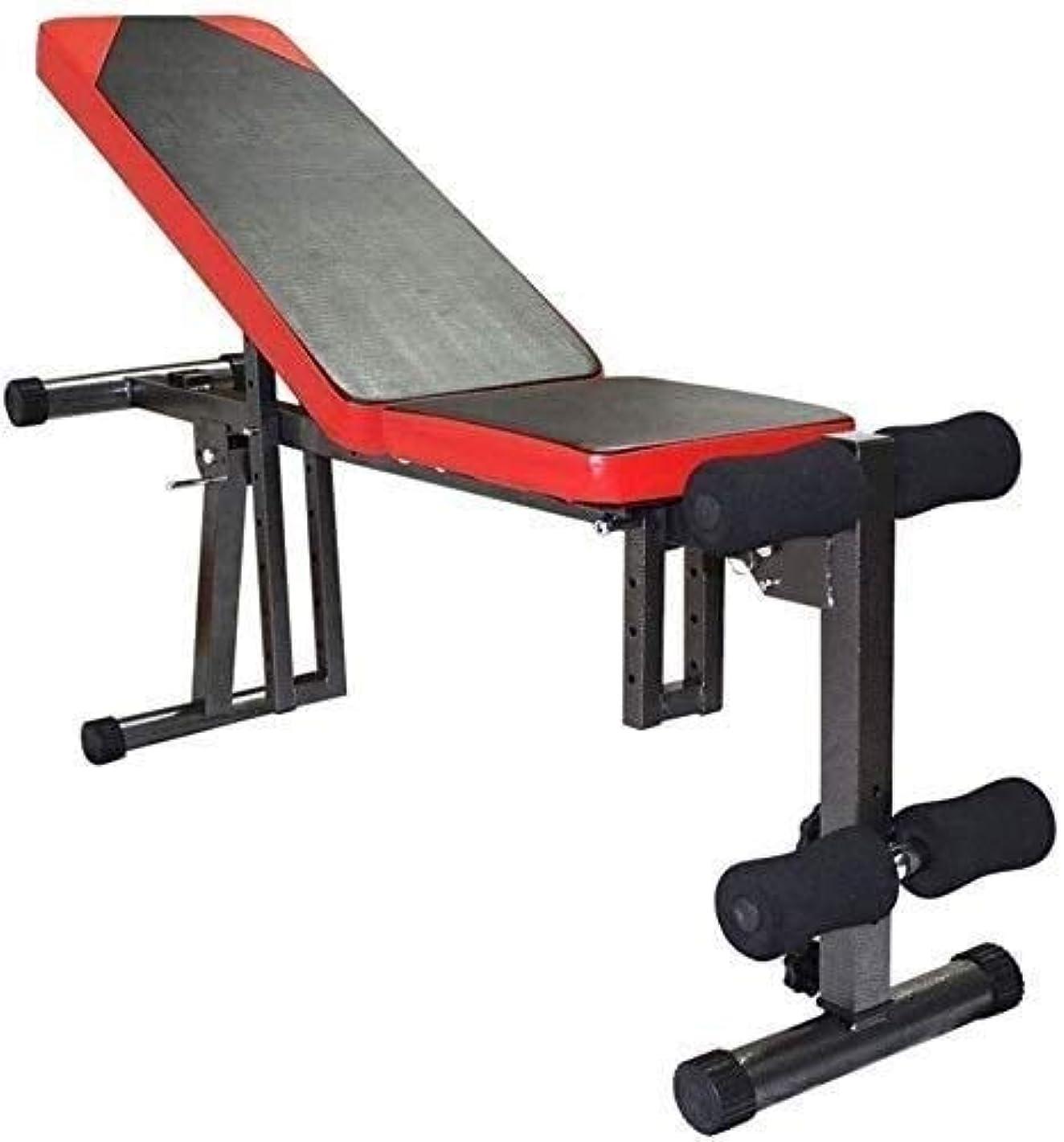 木追跡仕事OESFL アジャスタブルウェイトベンチトレーニングフィットネスジム腹筋腹部多機能調節可能な腹筋ボードホームフィットネス機器
