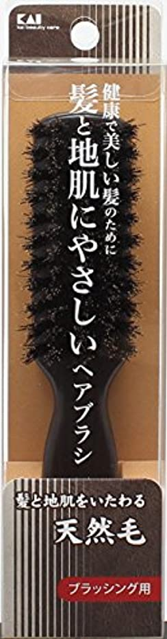 スズメバチ恵み本当のことを言うとKQ1531天然毛スタイリングブラシS
