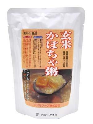 コジマフーズ 玄米かぼちゃかゆ 200g