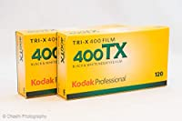 KODAK プロフェッショナル用 白黒フィルム トライ-X 400 120 10本パック