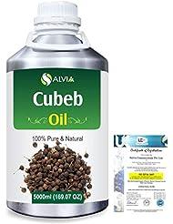 Cubeb (Piper Cubeba) 100% Pure Natural Essential Oil 5000ml/169 fl.oz.