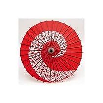 和傘 踊り傘 藤赤(装飾用)