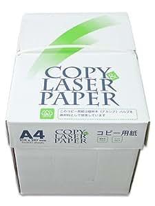 コピー&レーザー用紙 A4 白色度93% 紙厚0.092mm 2500枚(500×5)