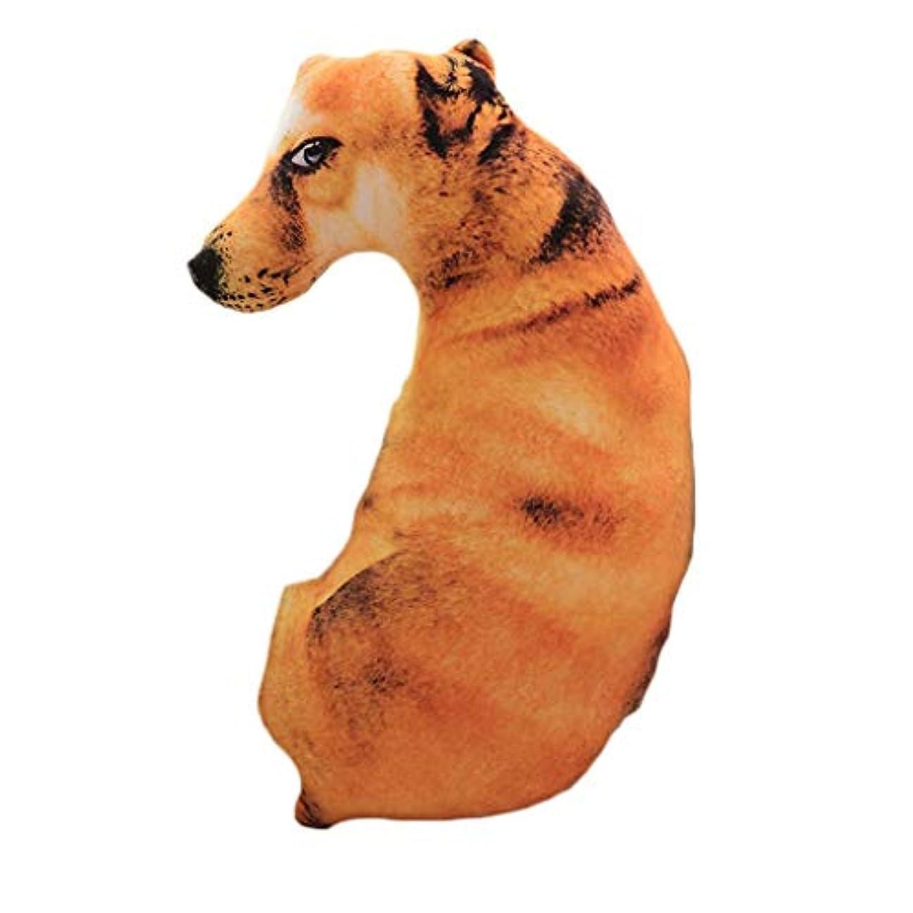 キリンデコレーション満足させるLIFE 装飾クッションソファおかしい 3D 犬印刷スロー枕創造クッションかわいいぬいぐるみギフト家の装飾 coussin decoratif クッション 椅子