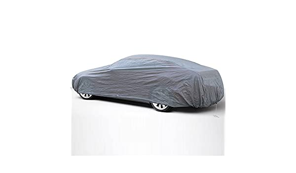 Ready-Fit // Semi Glove Fit Lowest Price OxGord Economy Car Cover Fits up to 204 IN 1 Layer Dust Cover