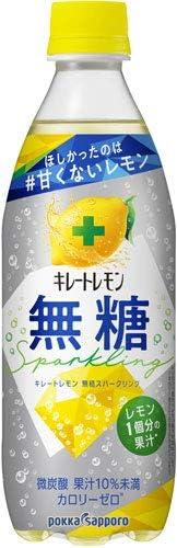 ポッカサッポロ キレートレモン無糖スパークリング 500ml ×24本