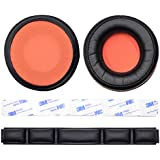 Replacement Ear pad Cushion Bands for SteelSeries Siberia 840 800 Wireless Headset Dolby 7.1 Headphone (Ear pad+Headband)
