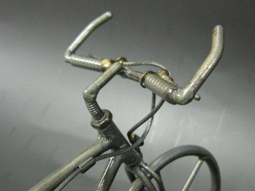 リサイクルメタルアート ピストバイク