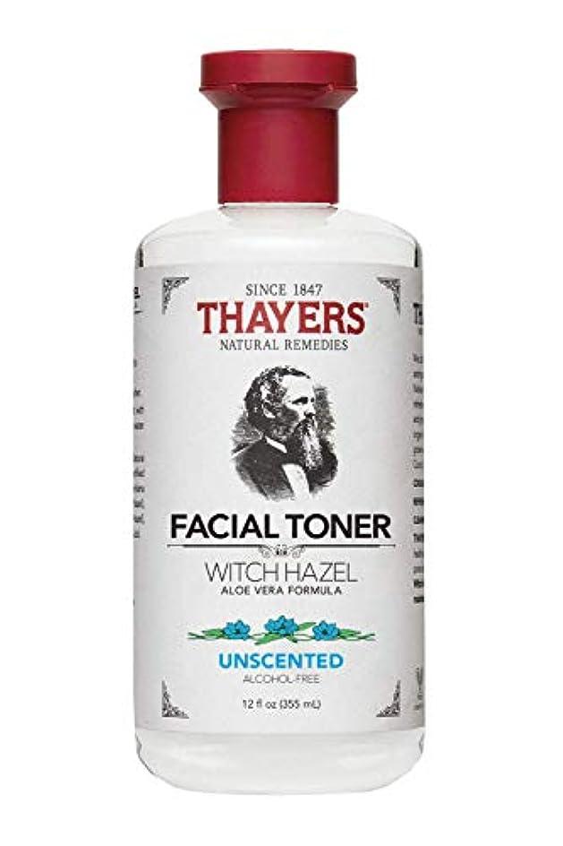 どれかいとこ誰もセイヤーズ(Thayers) 無香料 ウィッチヘーゼル トナー(アルコールフリー) 355ml [並行輸入品]