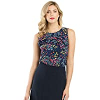 Review Women's Sing A Song Top Navy/Multi