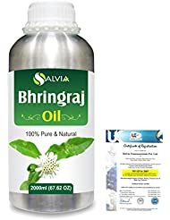 Bhringraj 100% Natural Pure Oil 2000ml/67 fl.oz.