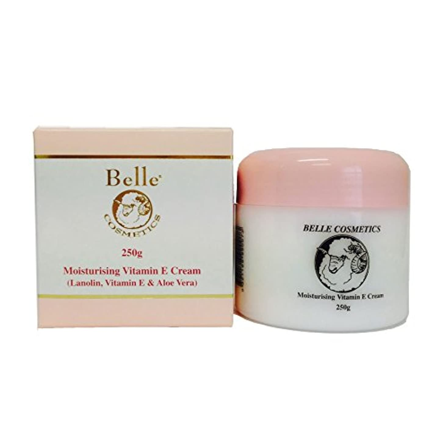 軽減するガチョウ取る[Belle Cosmetics]ベルコスメティック ラノリンビタミンEクリーム100g【海外直送】