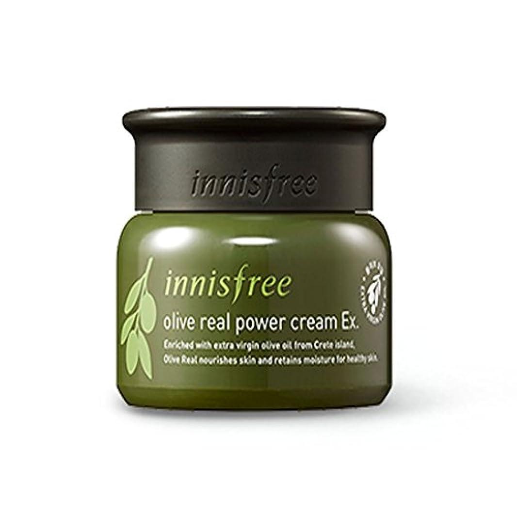 サーカス分析的運営イニスフリーオリーブリアルパワークリームEx 50ml / innisfree Olive real power cream Ex. 50ml[海外直送品][並行輸入品]