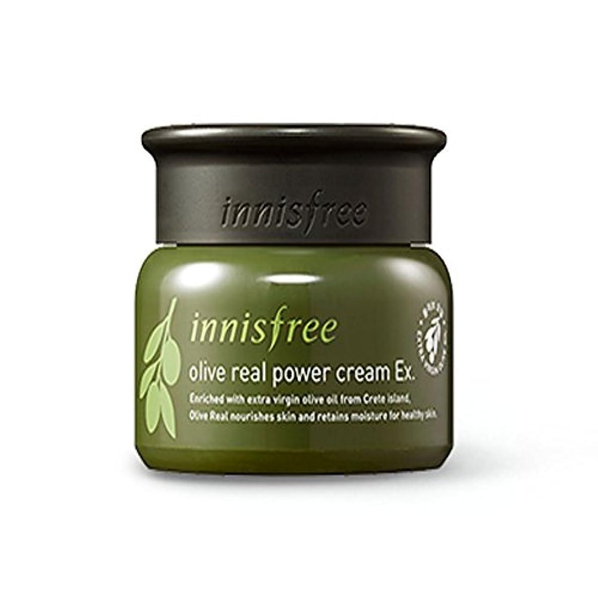 十一恐れ動機イニスフリーオリーブリアルパワークリームEx 50ml / innisfree Olive real power cream Ex. 50ml[海外直送品][並行輸入品]