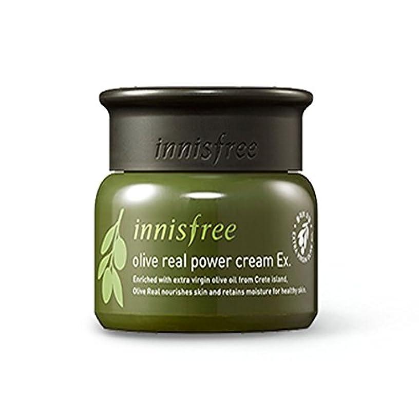 ムス強要夕食を食べるイニスフリーオリーブリアルパワークリームEx 50ml / innisfree Olive real power cream Ex. 50ml[海外直送品][並行輸入品]