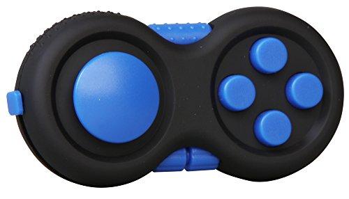 inFIT Fidget Pad ストレス解消パッド 不安・緊張リリース ADHD 脳トレ EDC フィジェットパッド FDP125B C.ブルー