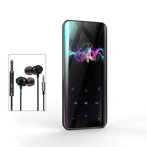 【技術限界突破 鋼製ガラス鏡面】MP3プレーヤー 超軽量 B...