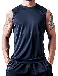 ティーシャツドットエスティー Tシャツ ドライ ノースリーブ 無地 薄手 3.5oz メンズ