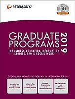 Graduate Programs in Business, Education, Information Studies, Law & Social Work 2019 (Grad 6)