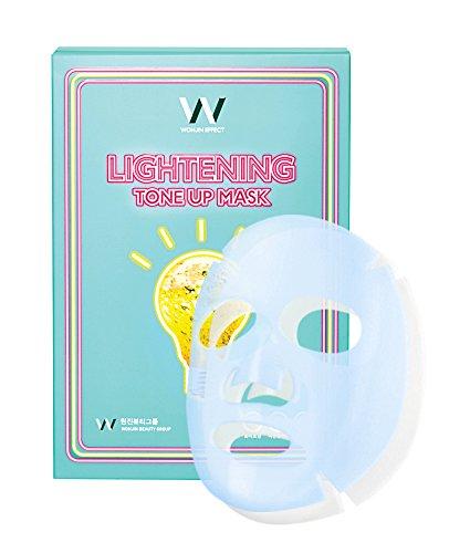 WONJIN EFFECTウォンジンエフェクトライトニングトーンアップマスク10枚入 [Lightening Tone Up Mask] 10EA SET