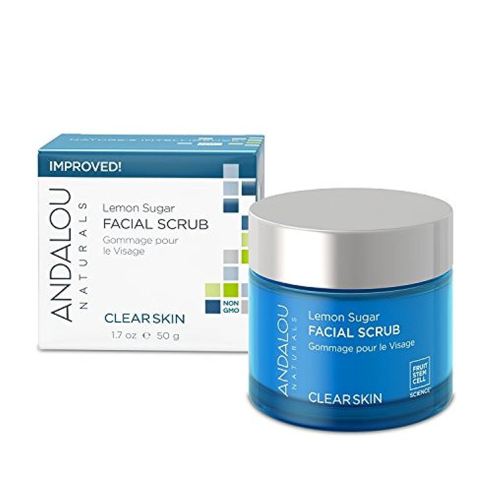 特別なでるヒントオーガニック ボタニカル 洗顔料 スクラブ洗顔 ナチュラル フルーツ幹細胞 「 LS フェイシャルスクラブ 」 ANDALOU naturals アンダルー ナチュラルズ