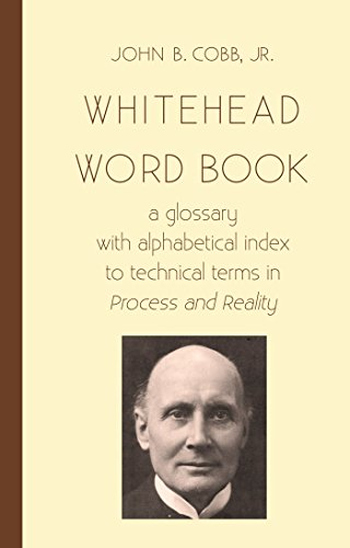 amazon whitehead word book a glossary with alphabetical index to