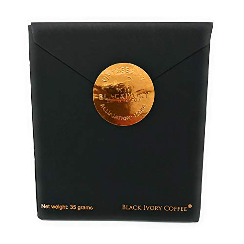 最高級 プレミアムコーヒー 豆 ブラック アイボリー BLACK IVORY 35g タイ産 アラビカ