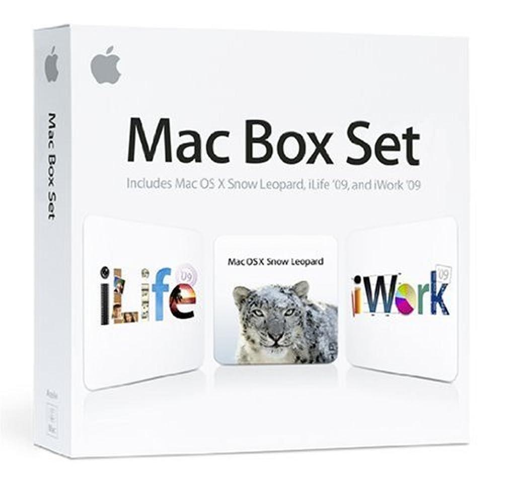 フォーマル荒廃するますますApple Mac Box Set 10.6 with iWork'09 + iLife'09 並行輸入品