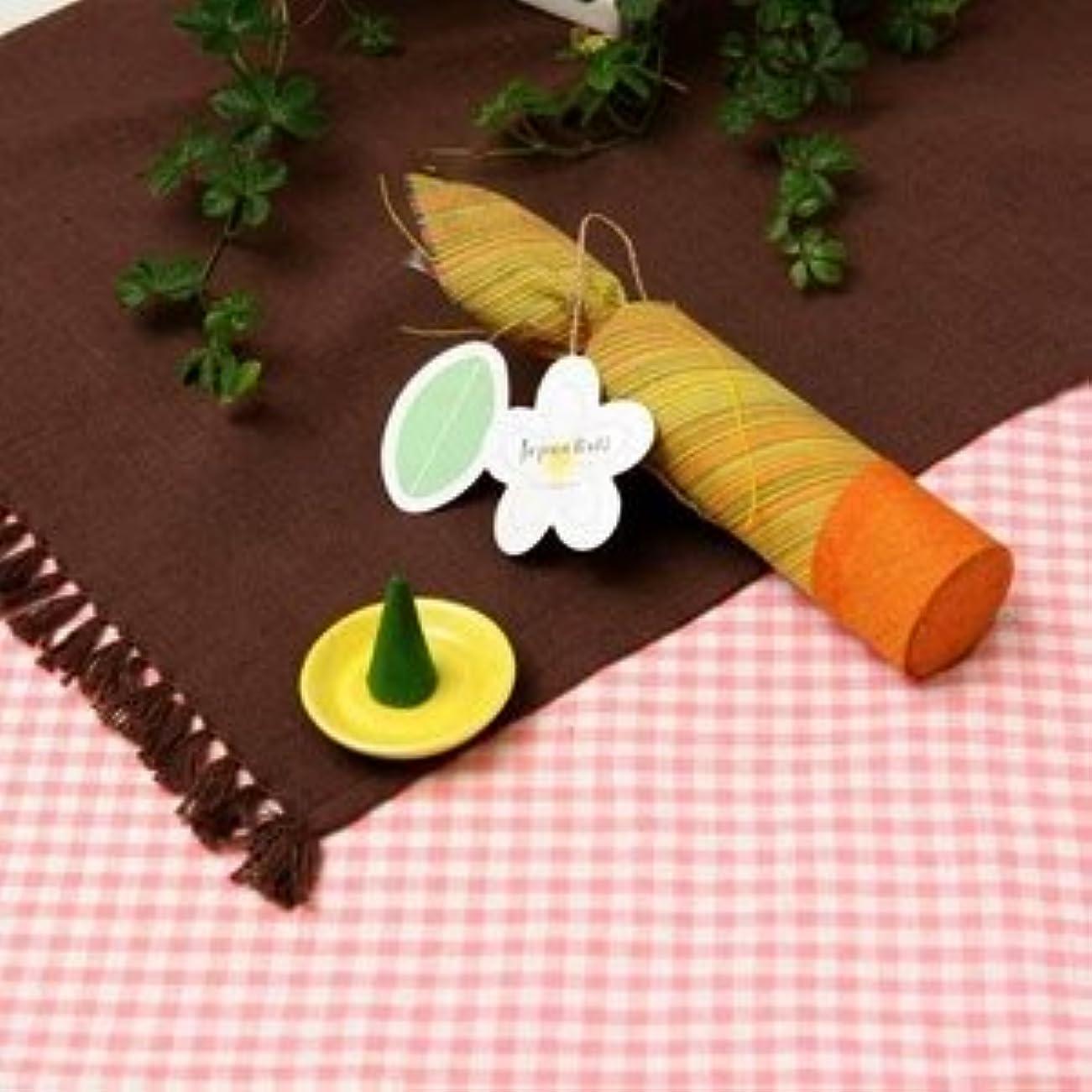 木製松明月お香/インセンス 【フランジパニの香り コーンタイプ10個入り】 バリ島製 「Jupen Bari/ジュプンバリ」 ds-128857