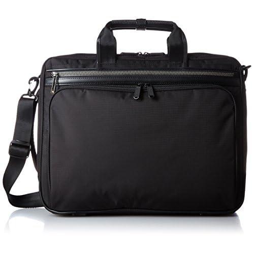 [エースジーン] ace.GENE 軽量3WAYビジネスバッグ フレックスライト フィット 42cm B4サイズ 1気室 PC収納 54562 01 (ブラック)