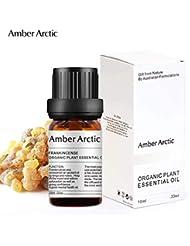 Amber Arctic フランキンセンス エッセンシャル オイル、100% ピュア ナチュラル アロマ テラピー フランキンセンス オイル スプレッド 用 (10ML) フランキン センス