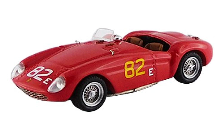 アートモデル 1/43 フェラーリ 500 モンディアル トーリーパインズ6時間 1956 #82 P.Hill シャーシ No.0438 RR:Ret. 完成品