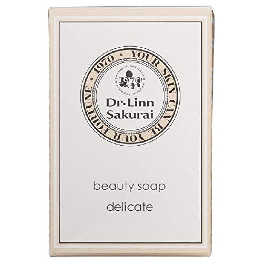 気候の山レシピフリッパードクターリンサクライ 洗顔石鹸 ビューティソープ デリケート (90g)